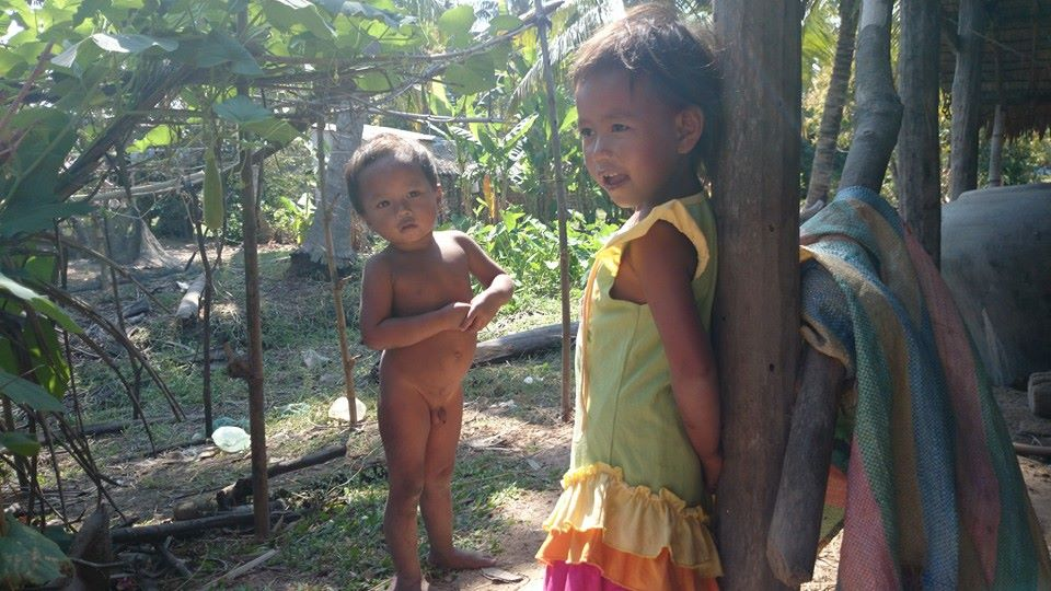 The Cambodian children are so cute, curious and always smiling.