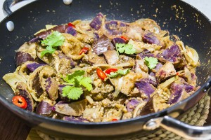 Indian purple sweet potatoe curry Jade Walker Recipes Small