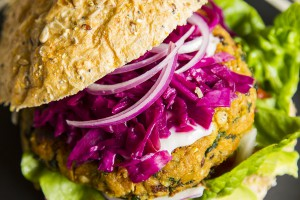 Jade Walker Recipes Veggie Burger