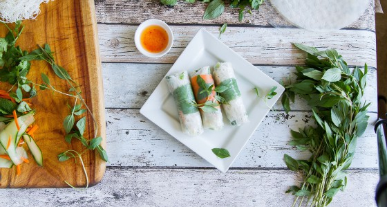 Rice Paper Rolls how to Jade Walker 4small