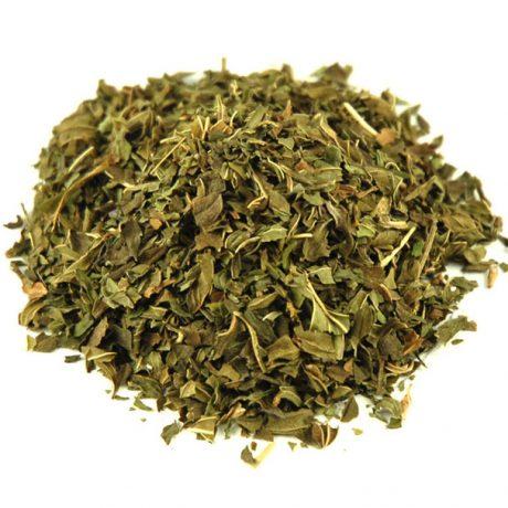 Dried peppermint leaf